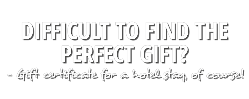 gift certificate Hotel Tinget
